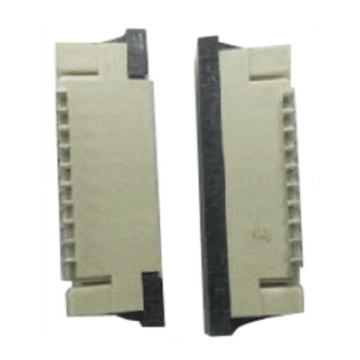 1.00mm FPC ZIF Staight SMT Dual Contact Type