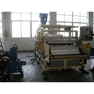 Best-sale Single Screw 1000MM Stretch Film Line