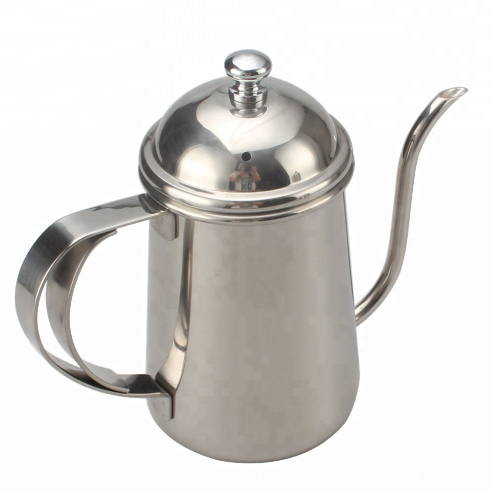Pour Over Drip Kettle Stainless Steel With 1