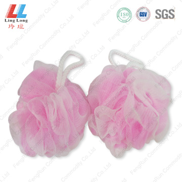 Flower mesh blotting sponge ball