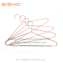 PriceList for for Chrome Metal Hangers EISHO Rose Gold Metal Coat Clothes Hanger export to Portugal Exporter