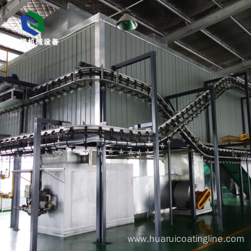Advanced Stable Heavy Hanger Small Conveyor Belt System