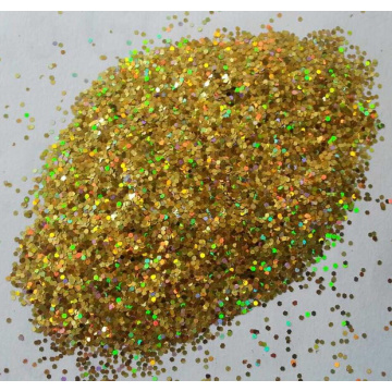 Glitter Pastel Red Gold JR205