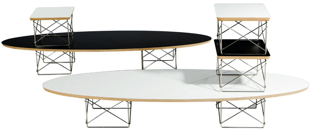 eames wire base low table replica
