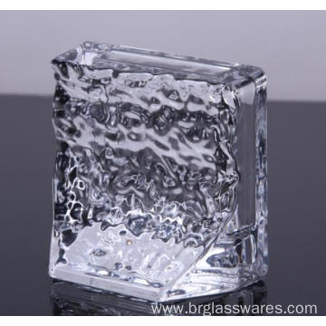 Tableware Crystal Glass Paper Weight For Sale