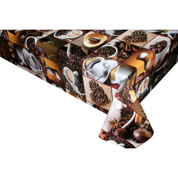 Coffee Design pvc Tablecloth