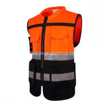 Hot sell EN ISO 20471 standard reflective jacket