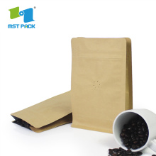 Biodegradable Custom Printed Kraft Paper Coffee  Bags