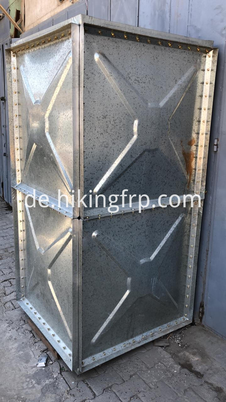 Q235 Steel Panels Steel Water Tank