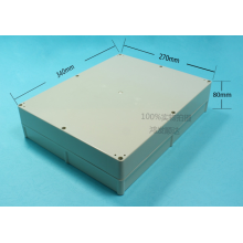 Purchasing for Plastic Enclosure,Junction Box,Connect Box Manufacturers and Suppliers in China ABS Plastic Enclosures (ECL340X270H80) export to French Guiana Exporter