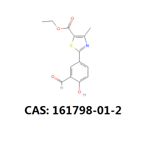 China for Febuxostat 4-Hydroxy Ethyl Ester Febuxostat intermediate cas 161798-01-2 export to Thailand Suppliers
