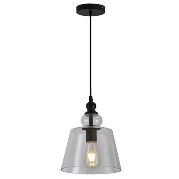 Clear Glass Pendant Light Industrial Edison Pendant Lamp