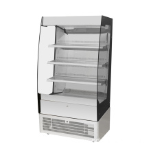 commercial marble glass bakery pastry cake display cabinet