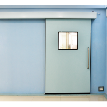 Stainless steel hospital sliding door