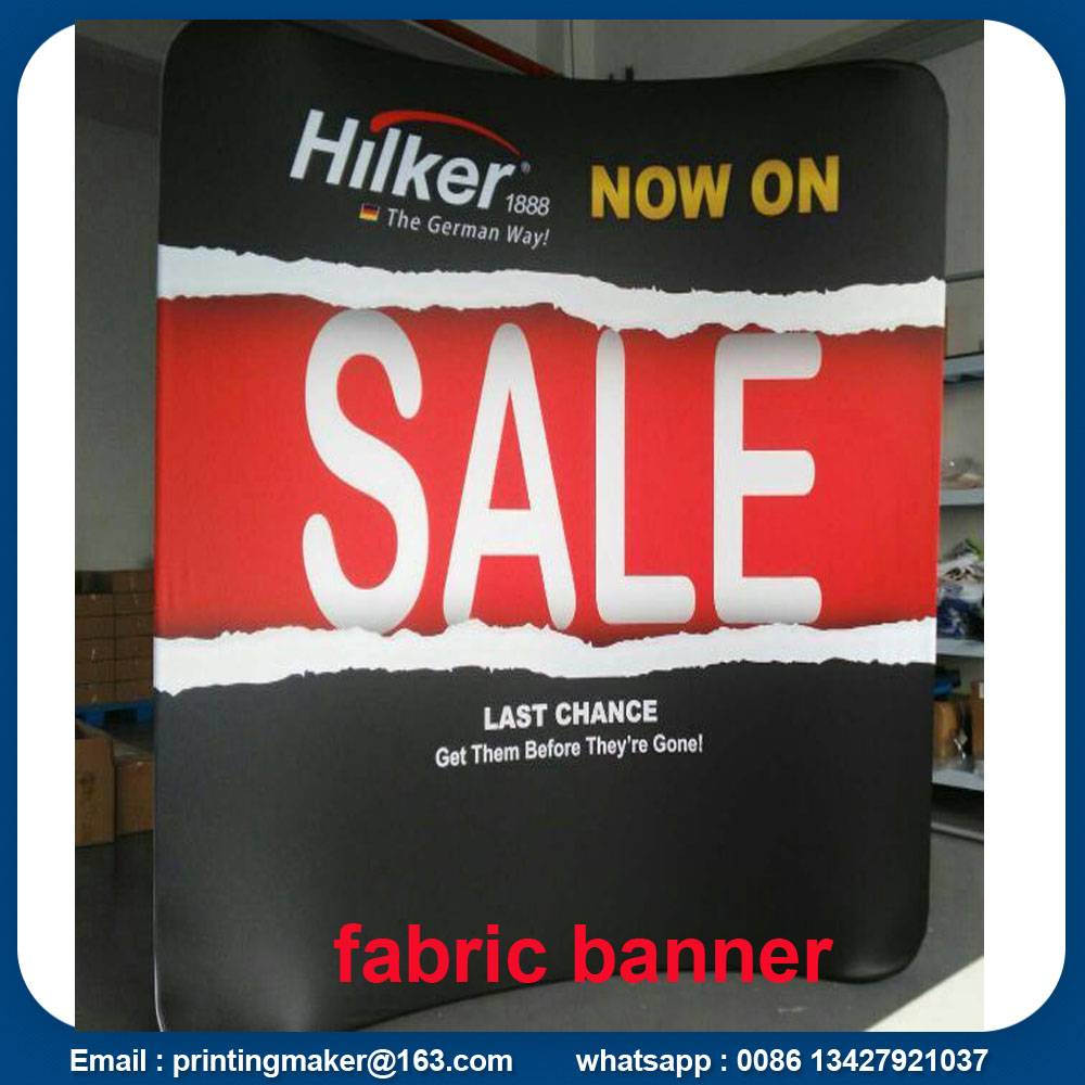 Quick Fabric Banner