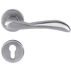 Polished Stainless Steel Solid Door Handle