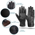 Kordear Touchscreen Womens Leather Gloves