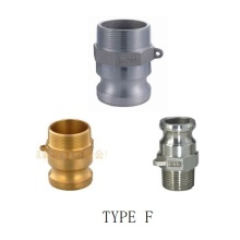 Short Lead Time for Brass Couplings Camlock Quick Coupling Type F export to South Korea Wholesale