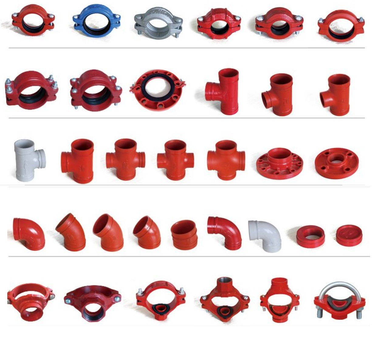 grooved couplings & fittings