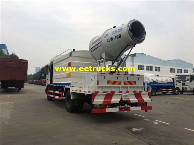 8 CBM Mutifunctional Dust Control Trucks