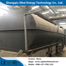 China for Waste Tyre Pyrolysis Oil Distillation Plant Waste engine oil reused to base oil machine supply to Serbia Wholesale