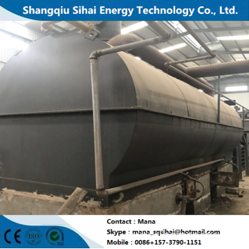 Tire Oil Recycle distillation plant
