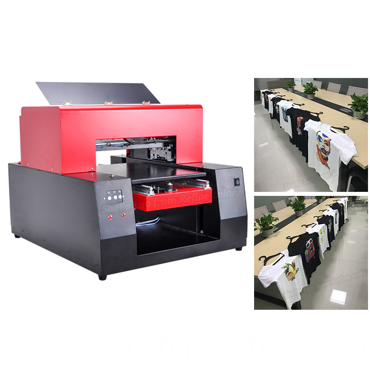 Automatic A3 T-Shirt Garment Printing Machine