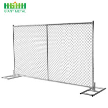 Best factory sales galvanized temporary removable iron fence