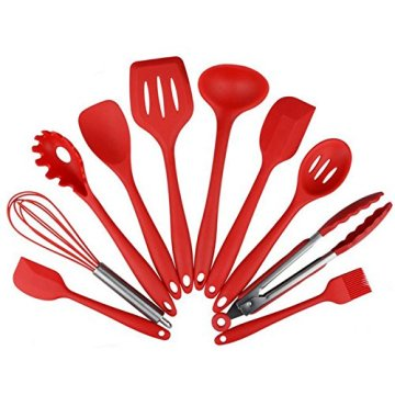 Silicone Heat Resistant Kitchen Cooking Utensil Cooking Set