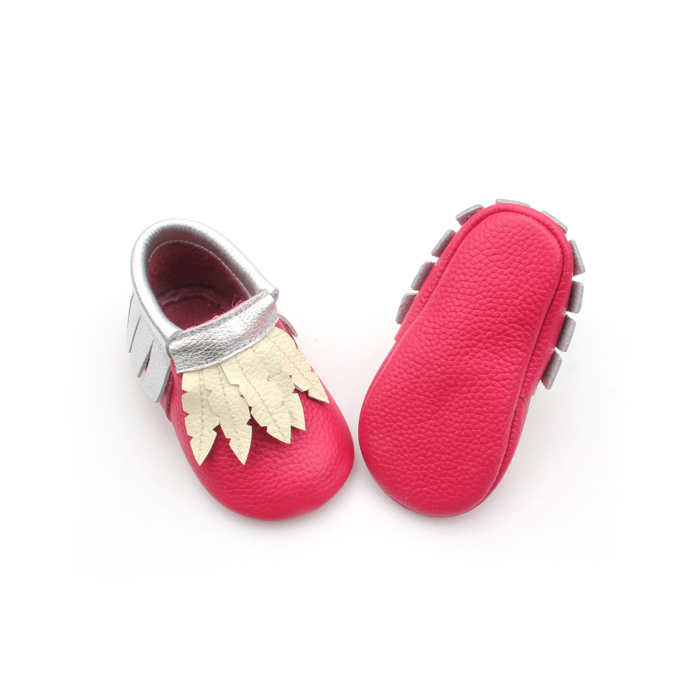 2018 Hot Red Moccasins