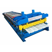 glazed metal steel profile roll forming machine price