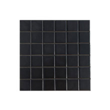 High quality factory for Swimming Pool Tiles Black ceramic mosaic pool tiles for sale supply to Italy Suppliers