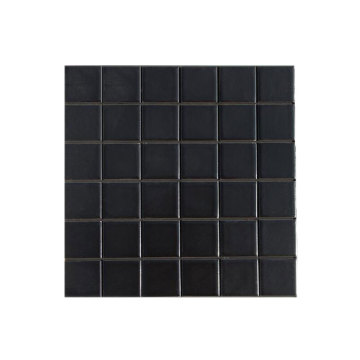 Customized for Swimming Pool Tiles Mosaic Black ceramic mosaic pool tiles for sale supply to United States Manufacturers