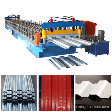 metal plate floor shaping machine