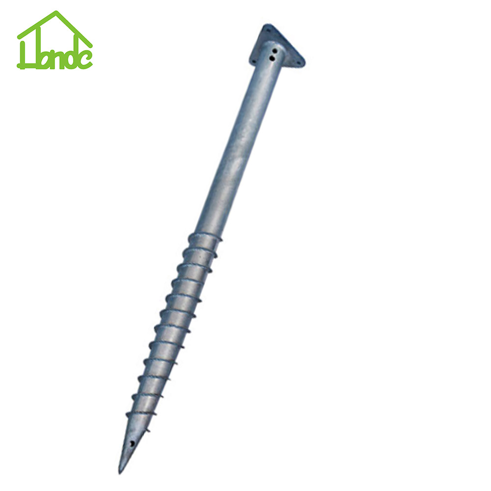 Triangle Ground Screw PIle for Foundation