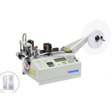 Automatic Woven Label Cutter Machine