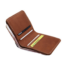 Women Men RFID Blocking Small Compact Bifold Wallet