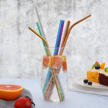 18/8 Simple Stainless Steel Straw