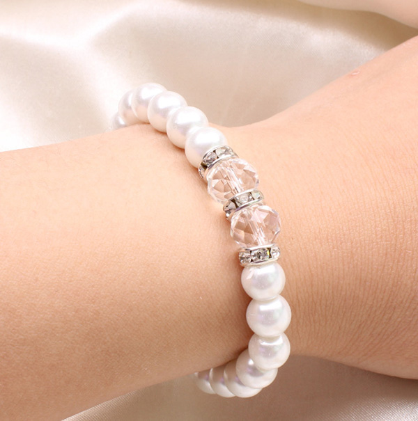 Beads Bangle Wedding Jewelry
