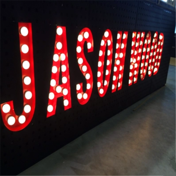 Customized LED Light Up Marquee Letters