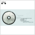 Magnetic resistance exercise bicycle front freewheel
