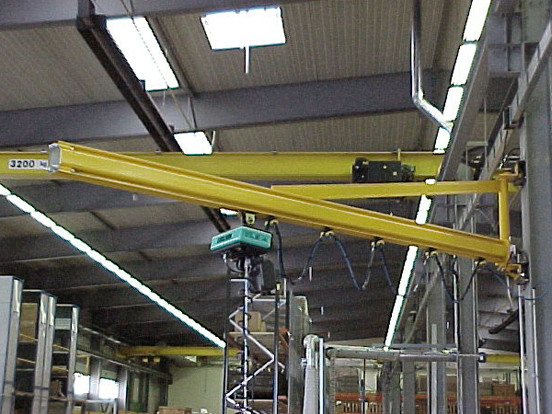 3t  wall-mounted jib crane