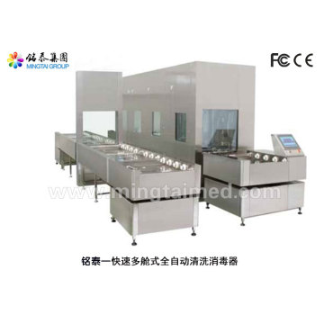 Rapid multi-chamber automatic washer-disinfector