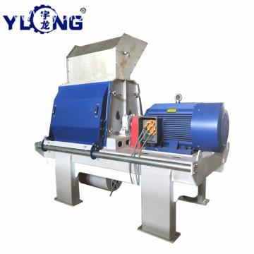 YULONG GXP75*55 hammer mill with cyclone