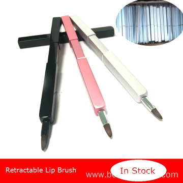 Retractable makeup lip brush Portable lip brush