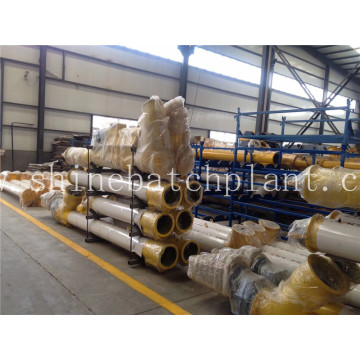Industrial  Screw Conveyor For Concrete Bathing Plant