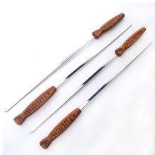 8pcs stainless steel sticks skewer set