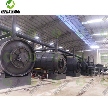 Pyrolysis of Solid Waste Plastic to Fuel Machine for Sale