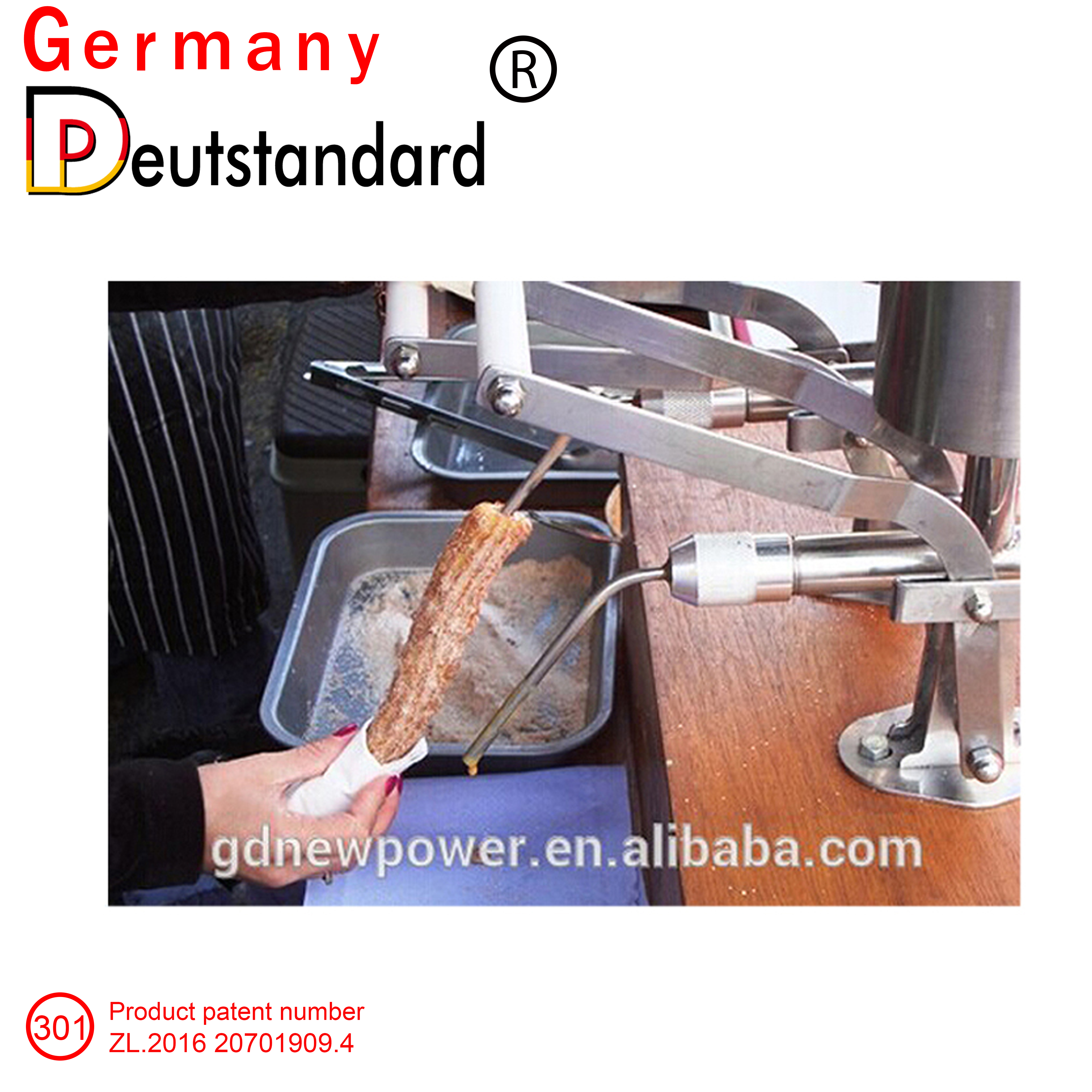 commercial churros filling machine