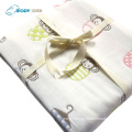Organic Muslin Multilayer Swaddle Blankets Bamboo Cotton